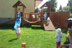 Dzień Dziecka, otwarcie placu zabaw