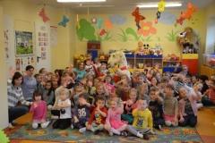 Koziołkowanie w przedszkolu